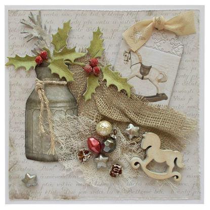 Obrázek Vánoční přání Houpací koník 3