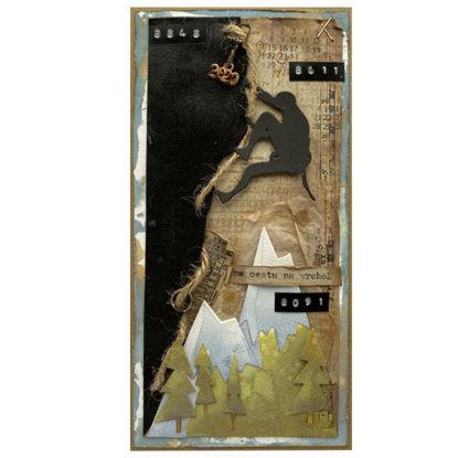 Obrázek Přáníčko do obálky Horolezec