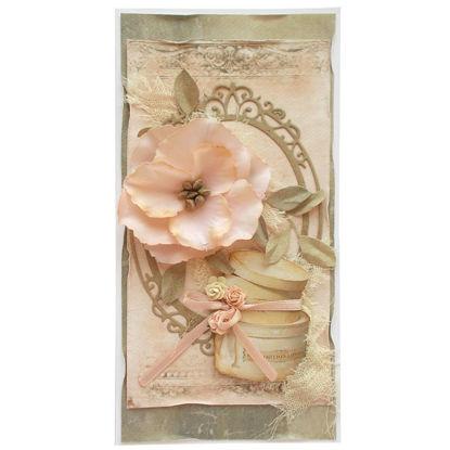 Obrázek Svatební přání Růžové s krabicí