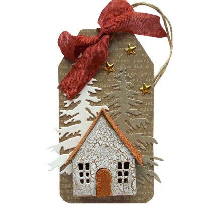 Obrázek Jmenovka na dárek (velká) Domeček 1