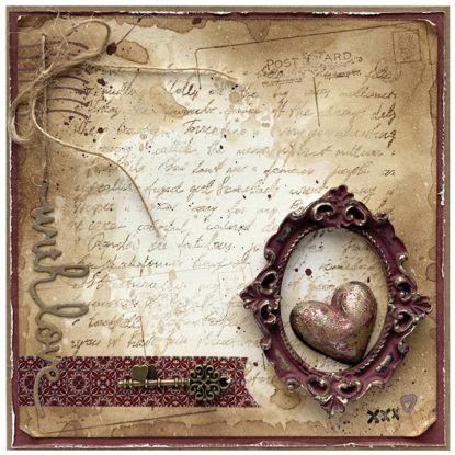Obrázek Valentýnské přáníčko Srdce v rámečku