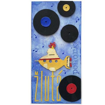 Obrázek Přání do obálky Žlutá ponorka