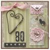 Obrázek Přáníčko k 80. narozeninám Se srdíčkem