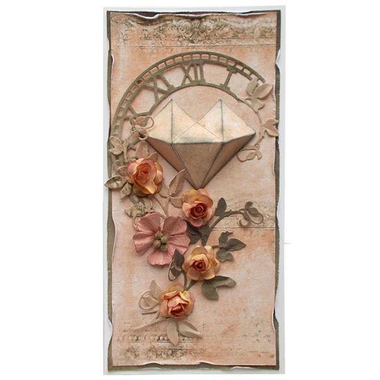 Svatební přání Růžové srdce