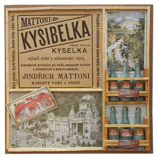 Přání retro koláž Mattoni-ho Kysibelka