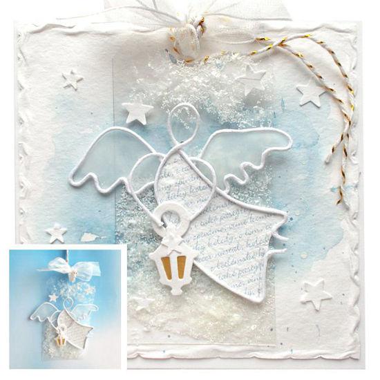 Obrázek Vánoční přáníčko s dárečkem 5