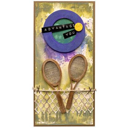 Obrázek Přáníčko do obálky Tenis Wimbledon