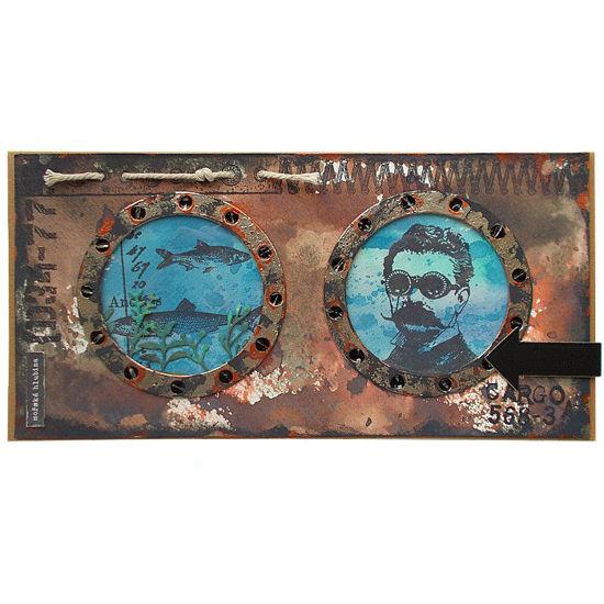 Obrázek Přáníčko do obálky Ponorka