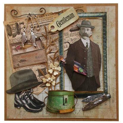 Obrázek Přání do obálky Gentleman 6