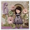 Obrázek Přání k 6. narozeninám Holčička Gorjuss