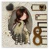 Obrázek Přání k 8. narozeninám Holčička Gorjuss