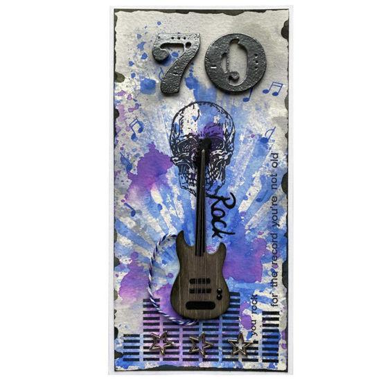 Obrázek Přání k 70. narozeninám Rocker