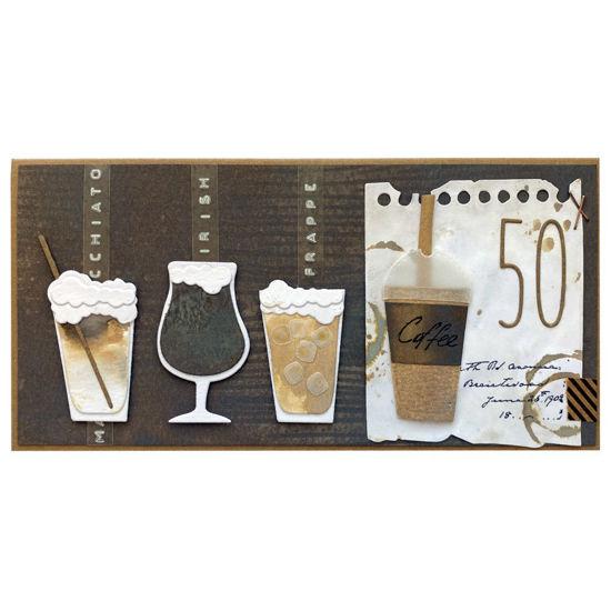 Obrázek Přání k 50. narozeninám Coffee