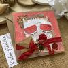 Obrázek Přání do obálky Červené víno