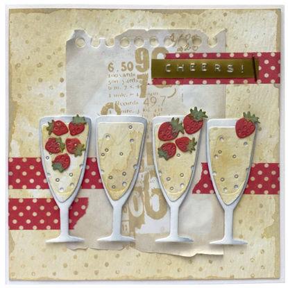 Obrázek Přání do obálky Cheers!