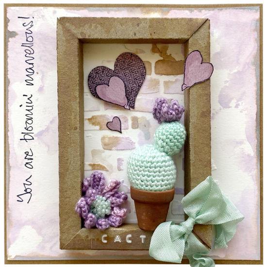 Obrázek Přáníčko do obálky Kaktus