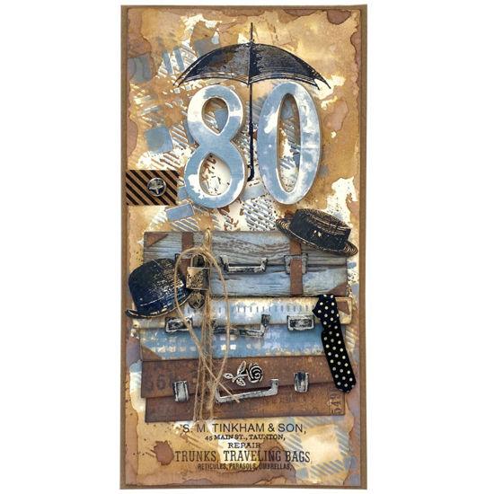 Obrázek Přání k 80. narozeninám Cestovatel