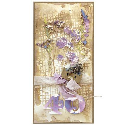 Obrázek Přání k 40. narozeninám S levandulí