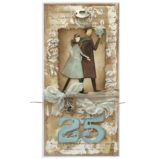 Obrázek 25. Stříbrná svatba Manželský pár