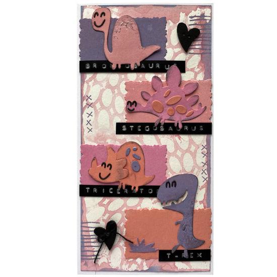 Obrázek Přáníčko do obálky Malí dinosauři 2