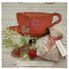 Obrázek Vánoční přání Vánoční čaj s meduňkou