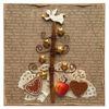 Obrázek Vánoční přání Stromeček s andělem