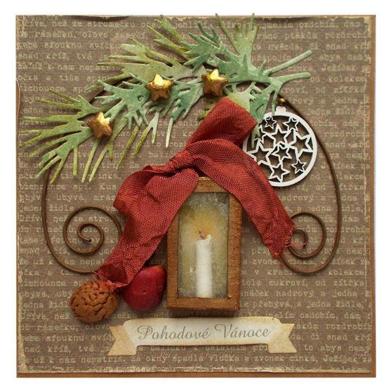 Obrázek Vánoční přání Lucerna