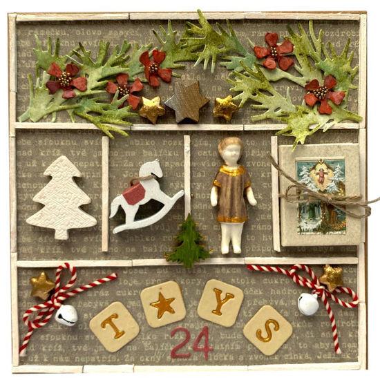 Obrázek Vánoční přání Hračky 1