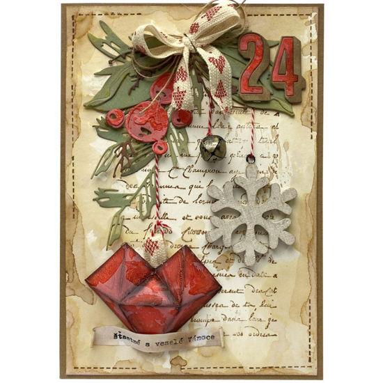 Obrázek Vánoční přání Vánoční ozdoby 1