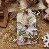 Obrázek Jmenovka na dárek (velká) Vánoční růže