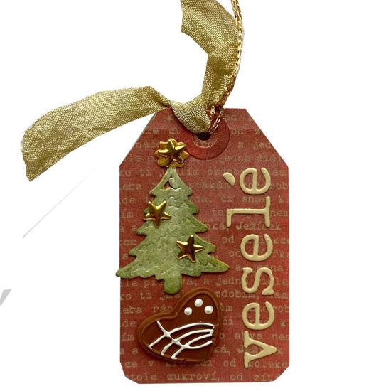 Obrázek Jmenovka na dárek (malá) Veselé Vánoce