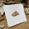 Obrázek Vánoční přání Perníček ryba 4