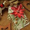 Obrázek Jmenovka na dárek (velká) Vánoční růže 2