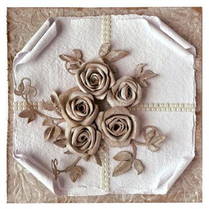 Obrázek Svatební přání Natural hnědá a bílá 4