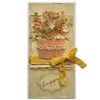 Obrázek Přání do obálky Květiny v košíku