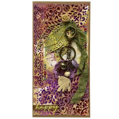 Obrázek Přání s dárkem Orientální přívěšek na klíče