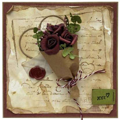 Obrázek Valentýnské přáníčko Kytice růží