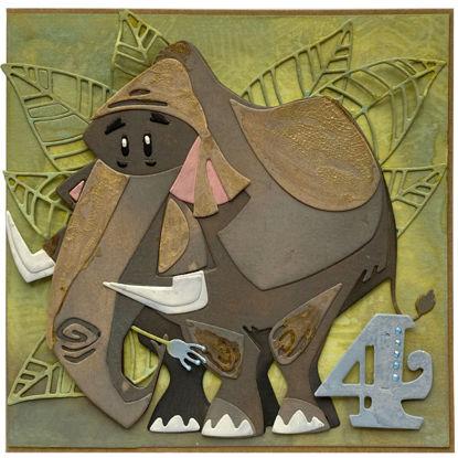 Obrázek Přání k 4. narozeninám Mamut