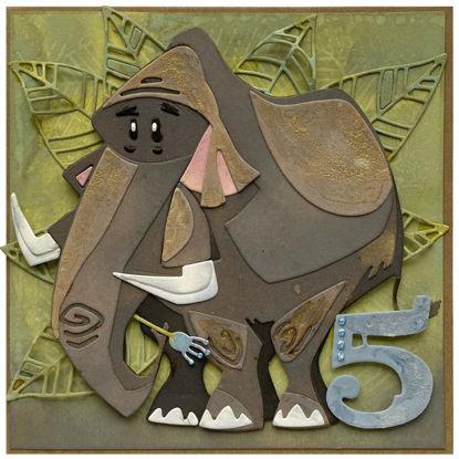 Obrázek Přání k 5. narozeninám Mamut