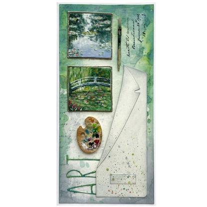 Jezírko s lekníny  Claude Monet
