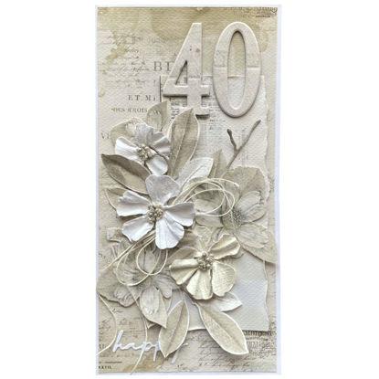 Obrázek Přání k 40. narozeninám Natural