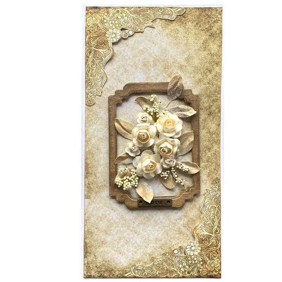 Obrázek Svatební přání Obraz z květin