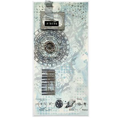 Přáníčko s drahým kamenem úzce spojeným s daným znamením zvĕrokruhu - Aquarius