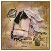 Přáníčko s drahým kamenem úzce spojený s daným znamením zvĕrokruhu - Pisces