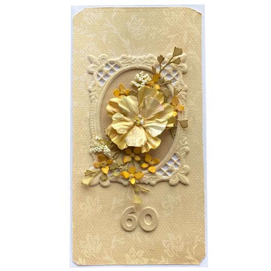 Obrázek Přání k 60. narozeninám Obraz květin
