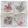 Obrázek Přání k 40. narozeninám Koláž květů