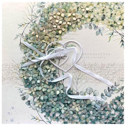 Obrázek Svatební přání Věnec z květů