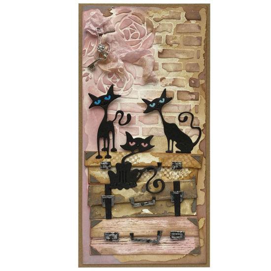 Obrázek Přáníčko do obálky Kočičí