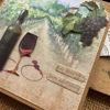 Obrázek Přání do obálky Vinný sklípek 3D 3