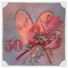 Obrázek Přání k 50. narozeninám Srdce s květy